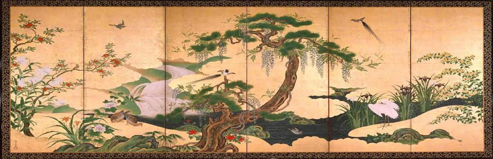 The oriental spell