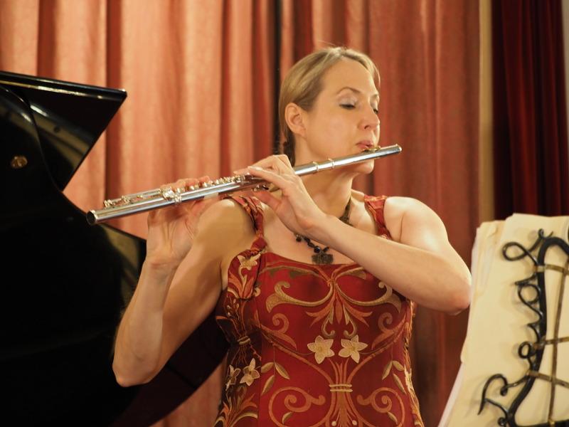 Concierto flauta y piano - Linda Chatterton y Nauzet Mederos