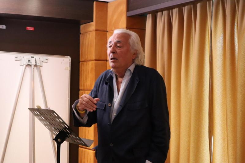 Dr. Enrique Lecumberri, ponencia IV acto internacional