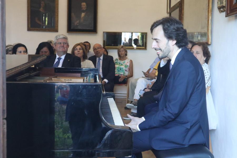 Concierto de piano de Iván Martín. Cartuja de Valldemosa