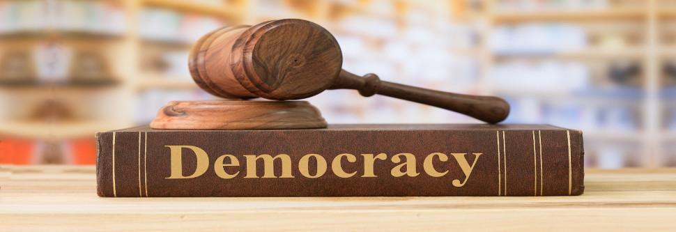 La democracia, a pie de calle
