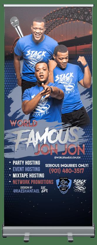 World Famous Jon Jon - Memphis, TN