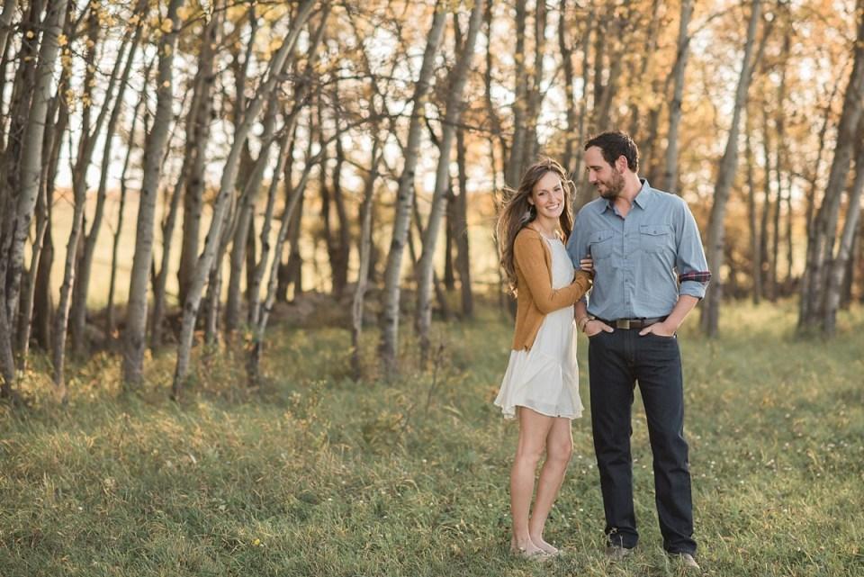 Stettler Fall Engagement Photos | Red Deer Photographers | Brett and Jenna
