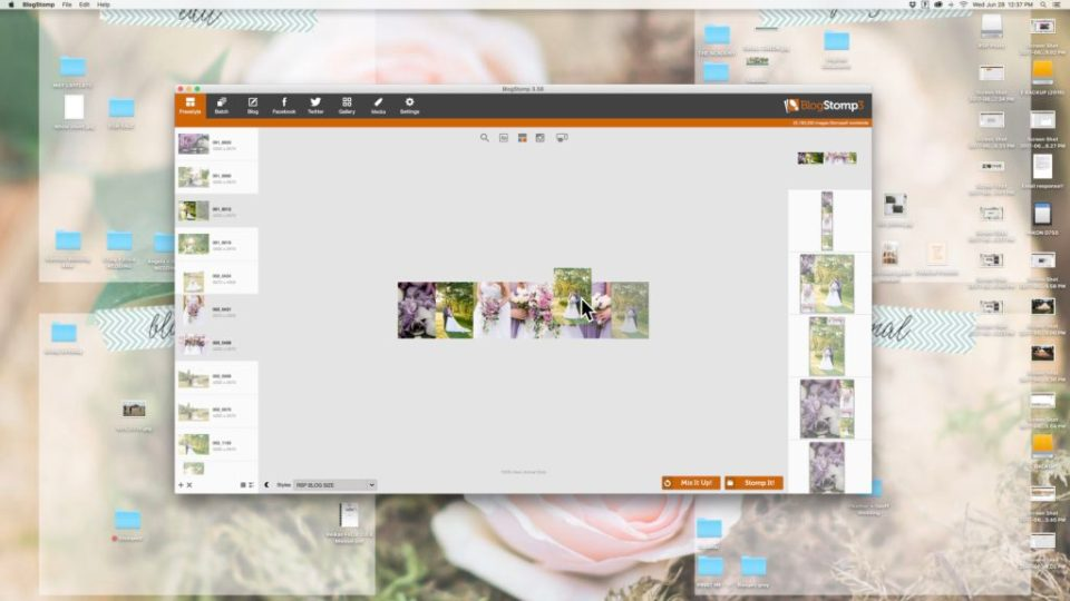 BlogStomp3- Moving a photo in a collage- How to move a photo