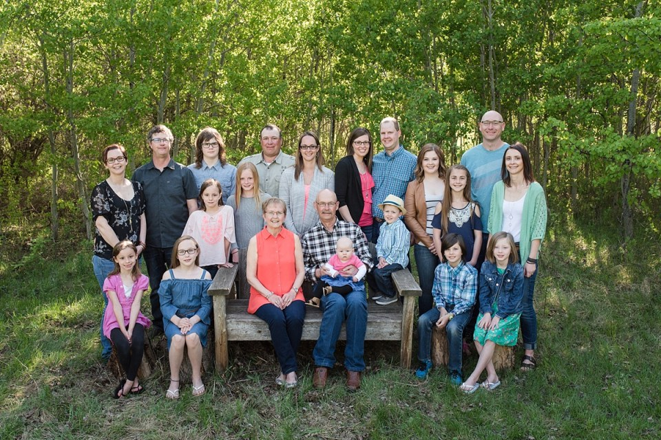 Spring Family Photos | Stettler Photographers | Halkirk, Alberta