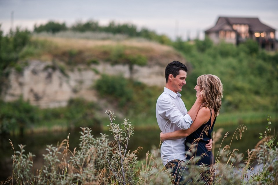 Red Deer's Best Wedding Photographers | Outdoor Summer Engagement Session | Engagement Photos | Red Deer | Alberta Wedding Photographers | Raelene Schulmeister Photography