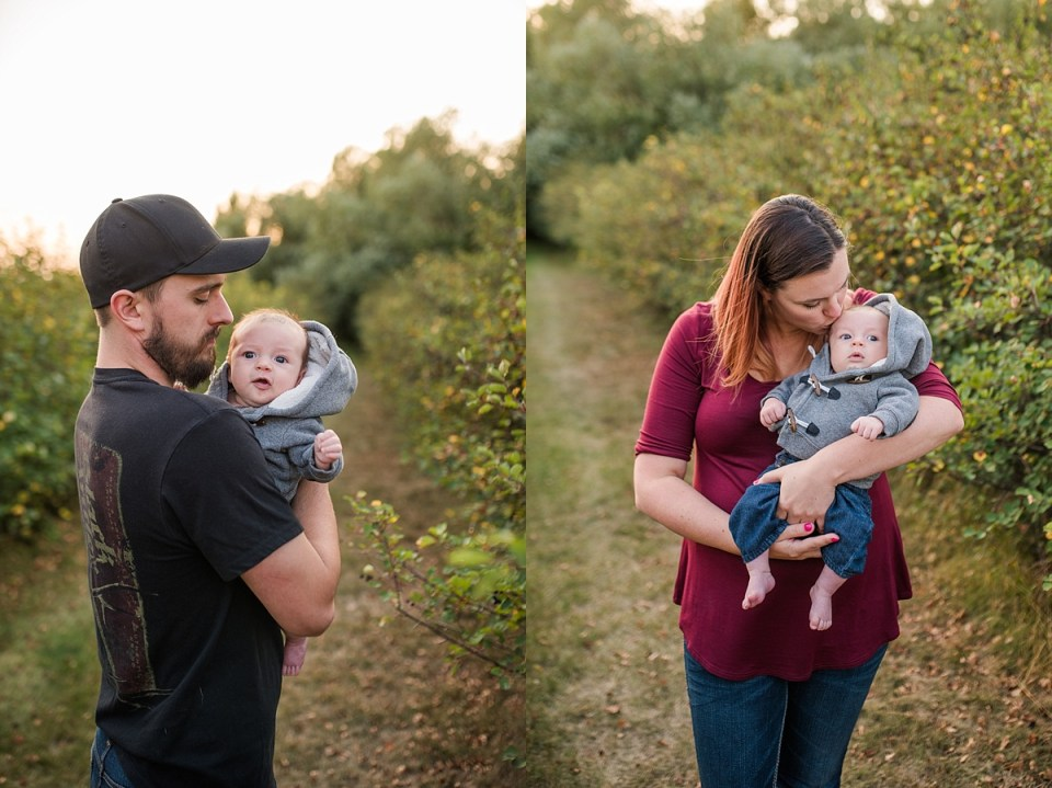 Fall Family Pictures at Home | Stettler Photographers | The Bateman's | Raelene Schulmeister Photography | Best Photographers in Stettler
