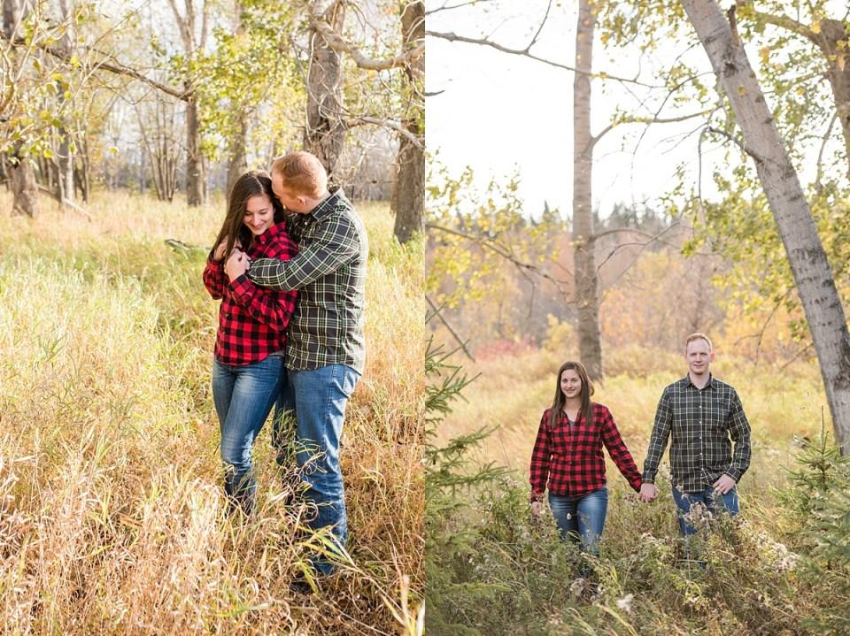 McKenzie Trails Engagement Photos, Red Deer Photographers