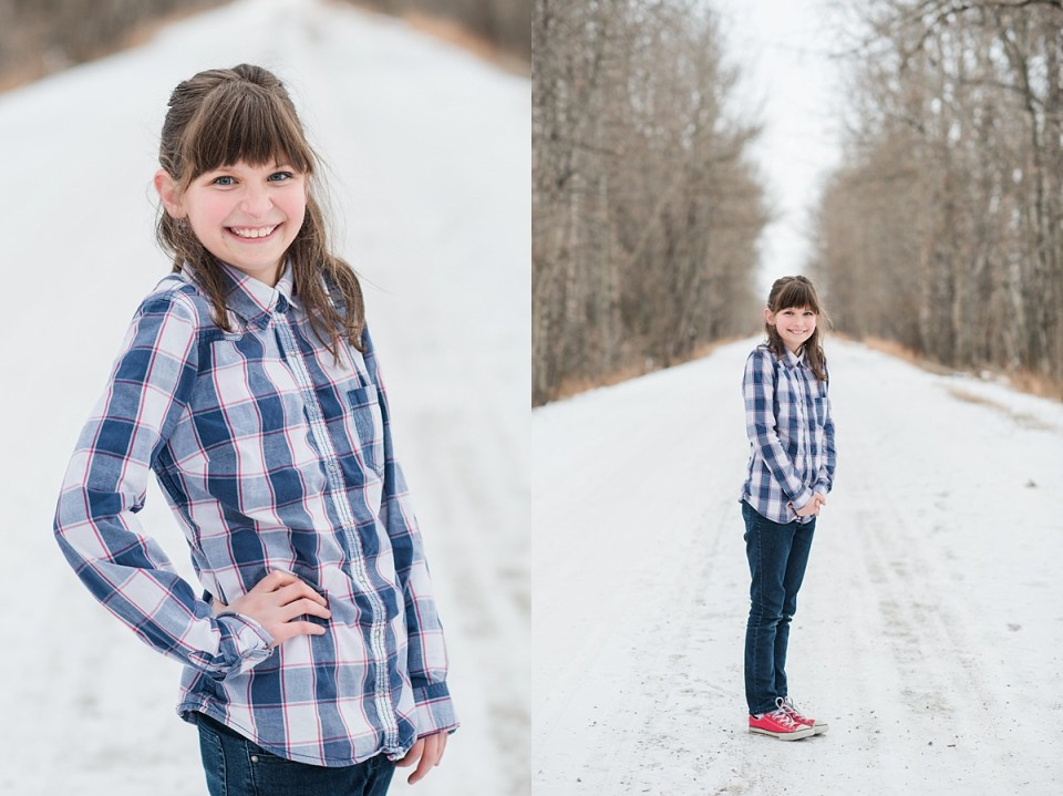 Plaid-burgundy-and-denim-family-pictures-Red-Deer-Photographers-family-photos-in-winter-snowy-christmas-photos