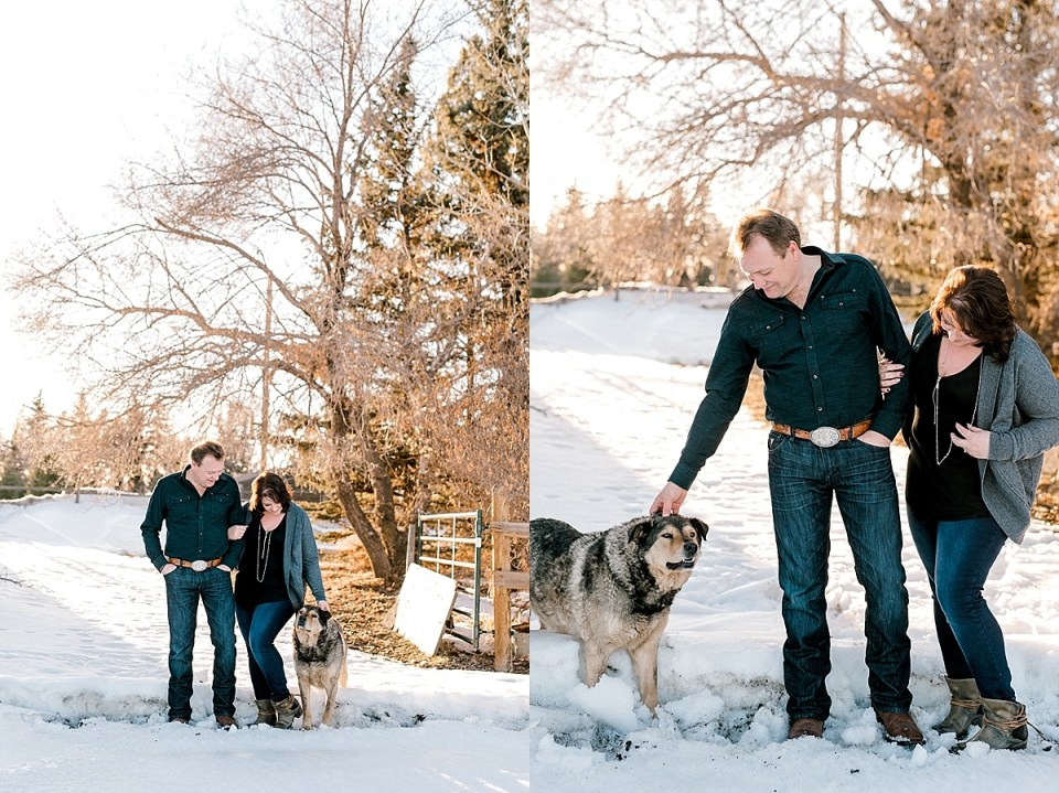 Country Engagement Photos | Red Deer Photographers |