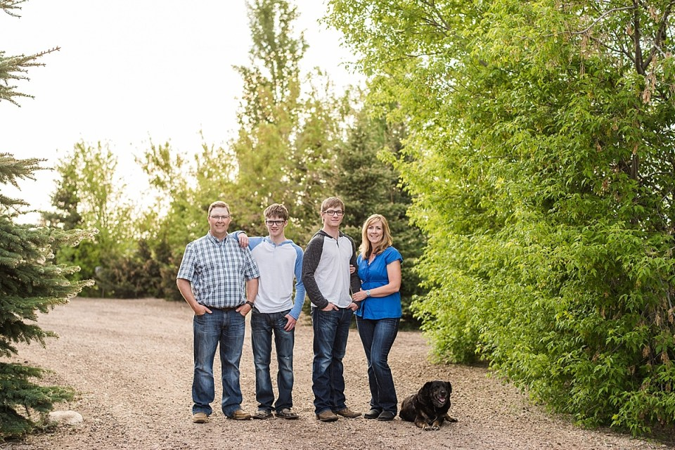 Castor Graduation and Family Photos | The Bagshaw Family