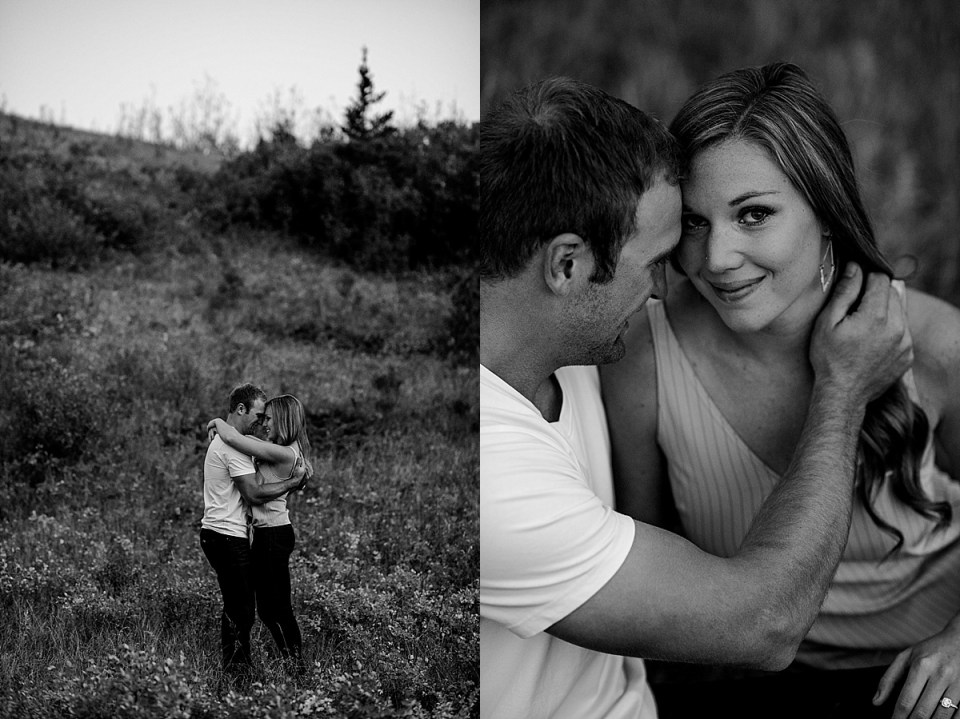 Justine and Landon | Stettler Wedding Photographer | Raelene Schulmeister Photography