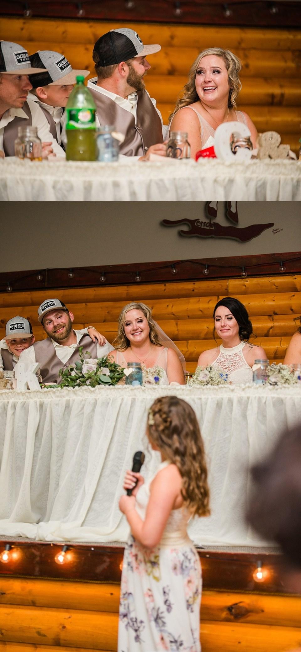 Country Cornfield Wedding | Ponoka Stagecoach Saloon Wedding | Ponoka, Alberta | Red Deer Photographers | Rustic Wedding Ceremony | DIY Wedding Arch