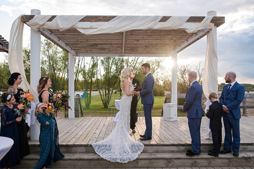 Romantic Aspen Beach Wedding | Red Deer Photographers | DIY Central Alberta Wedding