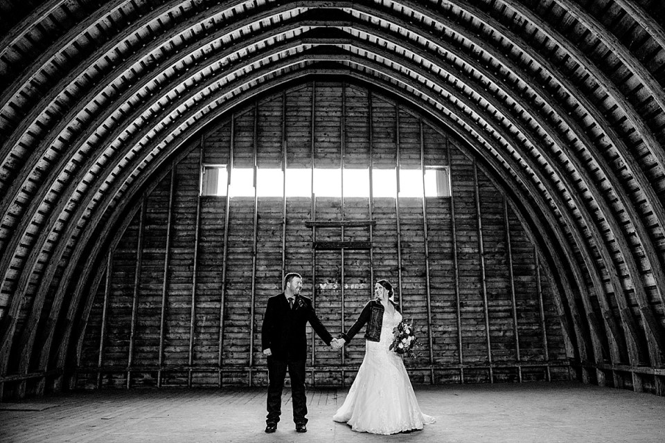 Burgundy and Denim Country Wedding | Red Deer Photographers | Bashaw, AB