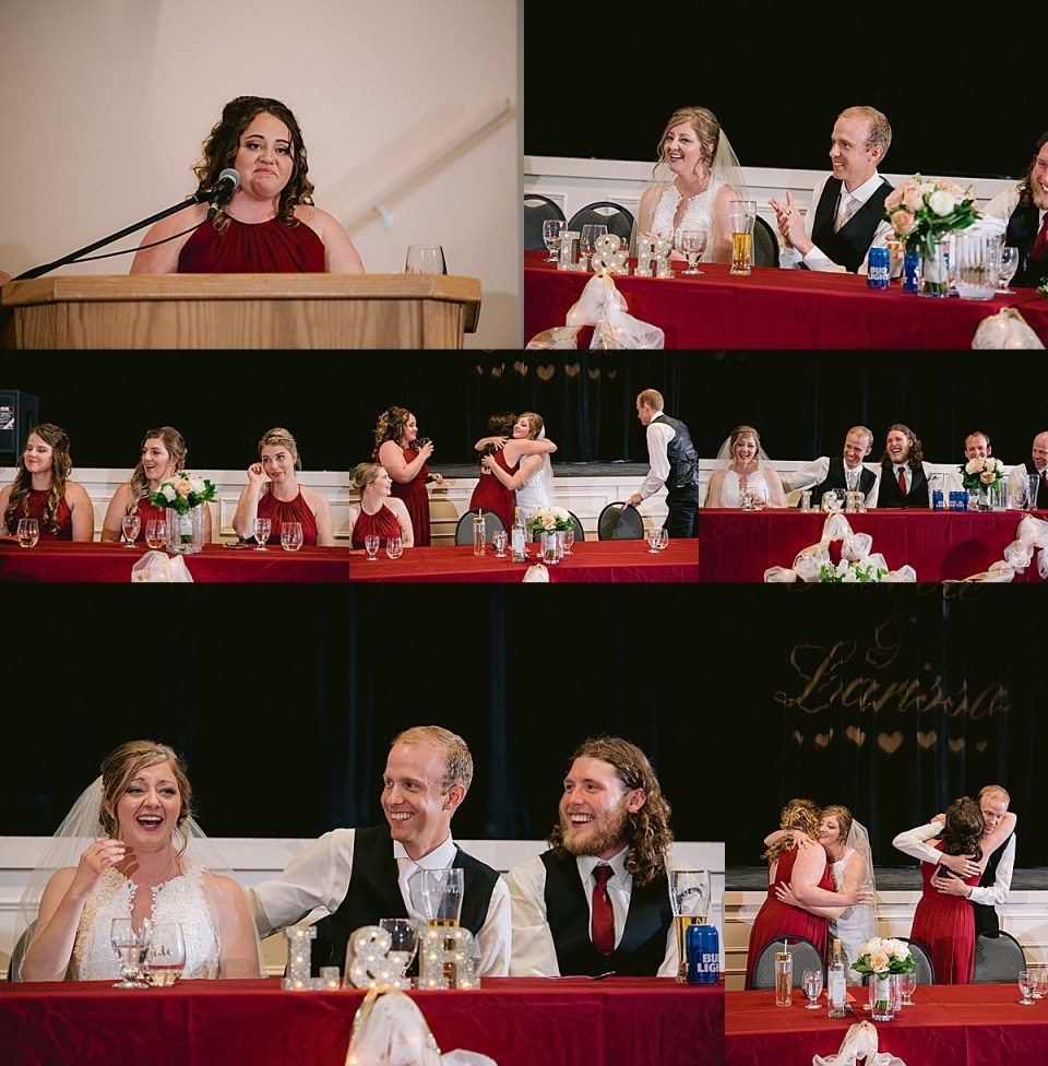 small-town-summer-wedding-with-grain-elevators-open-fields-and-burgundy-and-lace-accents-red-deer-photographers-castor-alberta-community-hall