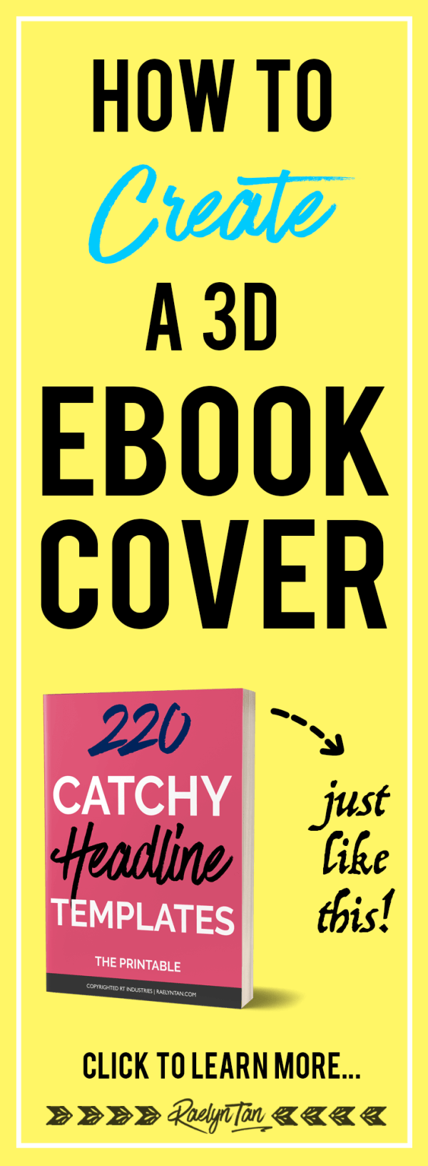 How to Make a 3D Ebook Cover in 10 Minutes (With Photoshop)