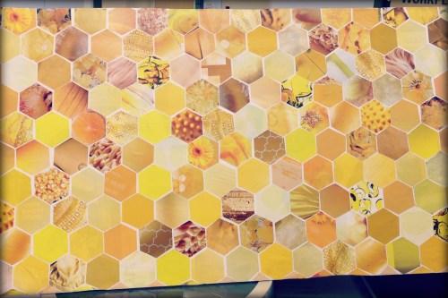 DIY Honeycomb backdrop