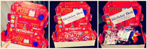 Easy DIY Birthday Box