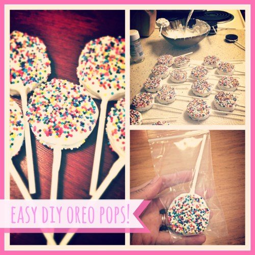 Easy DIY Oreo Cookie Pops // Instructions // Rae of Sparkles