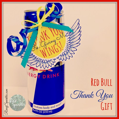 Red Bull Thank You Gift