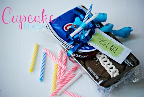 Cupcake Treats // Free Printable // Hostess Cupcakes Treats