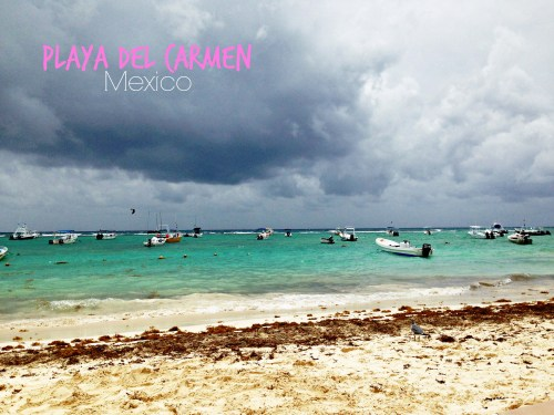 Playa Del Carmen, Mexico // Beach Storm