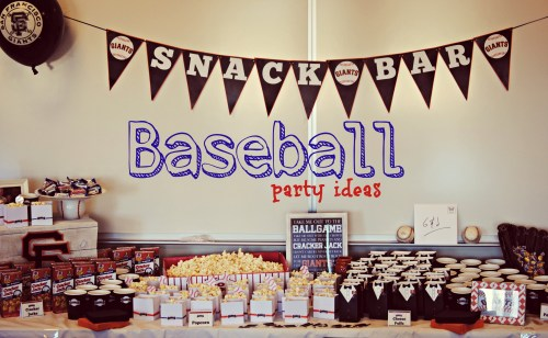 Baseball Themed Party // San Francisco Giants Party
