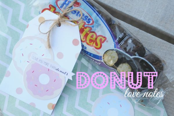 Leave a Donut Love Note for Someone Special