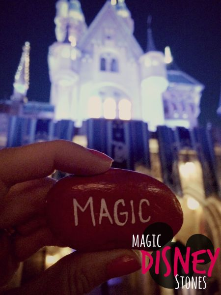 Magic Disney Stones DIY Disneyland