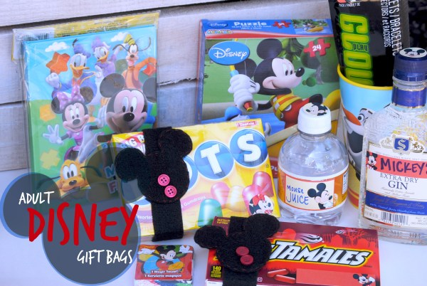Gift Bag Ideas for Adults at Disneyland