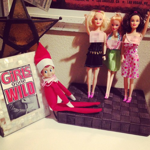 Elf on the Shelf - Girls Gone Wild