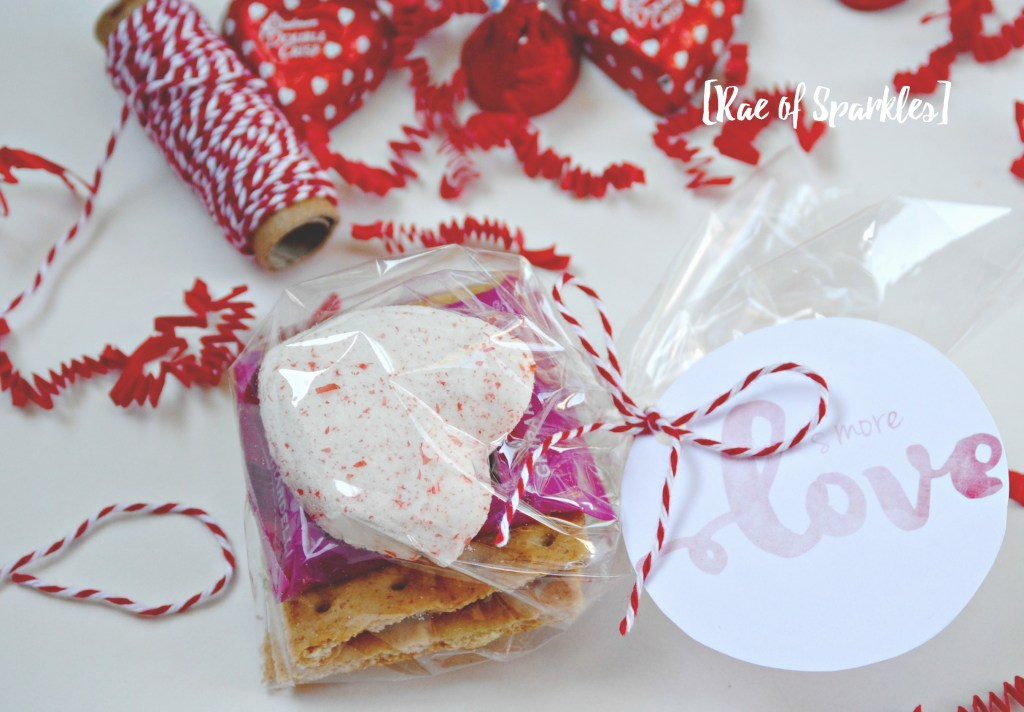 S'more Valentine Treat - Free Printable
