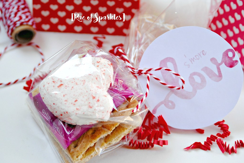 Valentine S'mores Treats - Free Printable