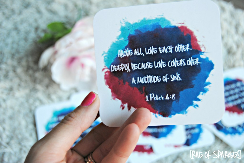 Printable Bible Verse Notecards