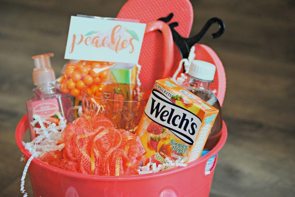 Peach Gift Basket Ideas - You're a Peach
