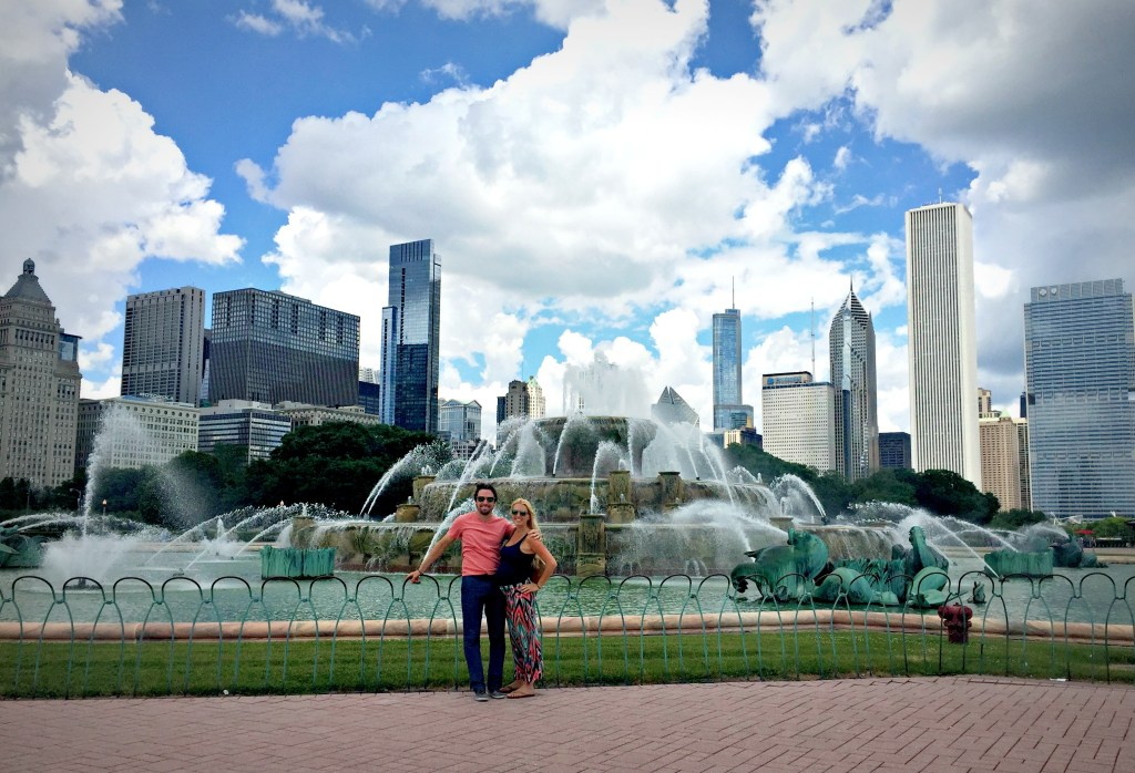 A Day in Chicago - Grant Park, Buckingham Fountain