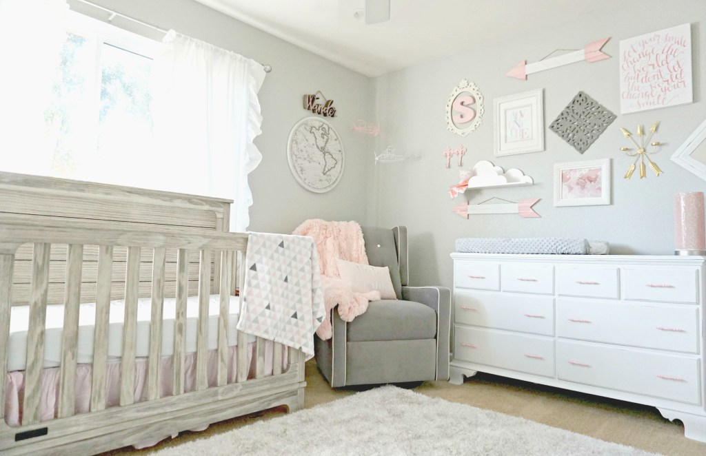 Adventure Travel Themed Nursery for Baby Girl