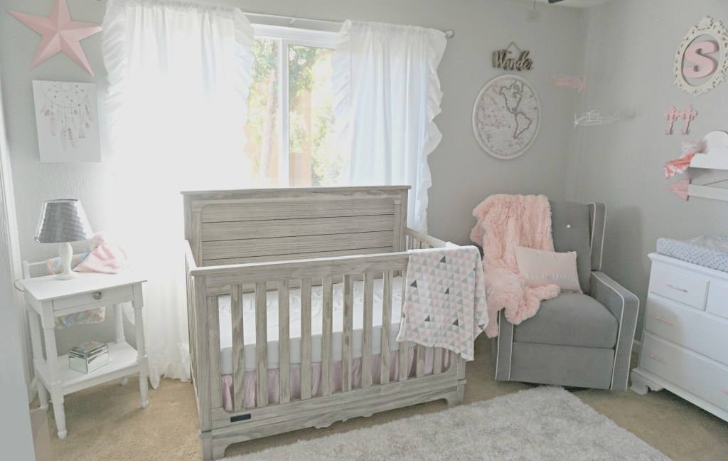 Adventure Travel Themed Nursery for a Baby Girl
