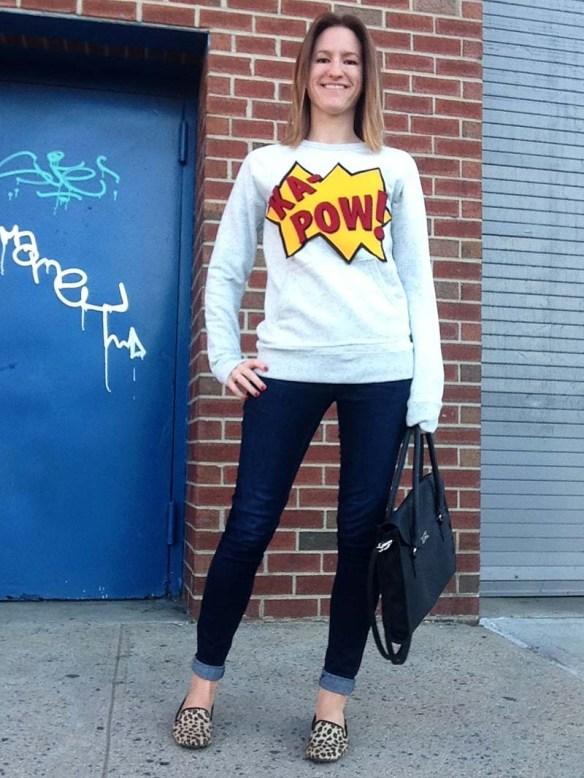 rae's days sweatshirt
