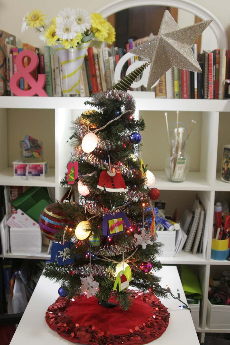 ugly sweater ornaments – Rae Nudson