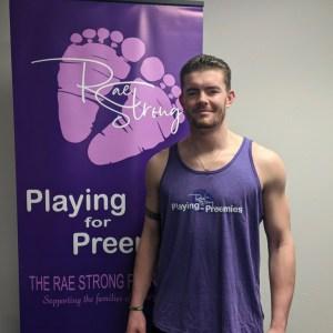 Playing For Preemies Purple Tank