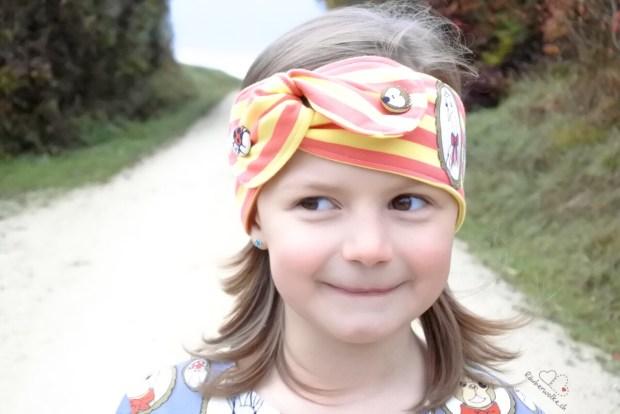 Cherrypicking - HappyFamily - Dress Fine Evlis Needle + Florence Stirnband BirdyLu // Raeuberwolke.ch