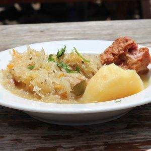 Hausgemachter Sauerkraut