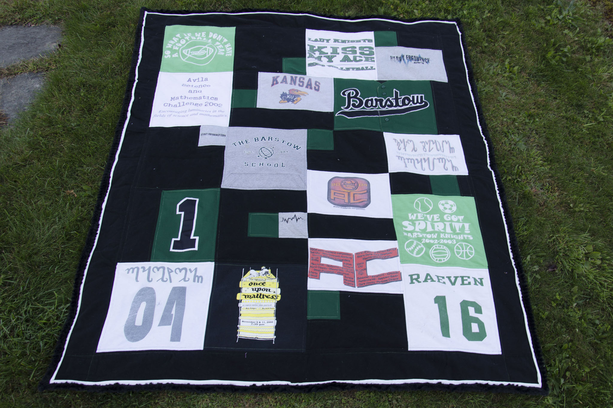 Making Quilt Out T Shirts