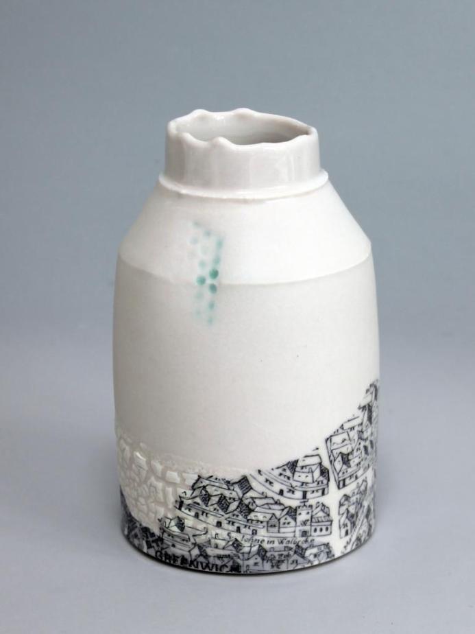 Mudlarking Bottle
