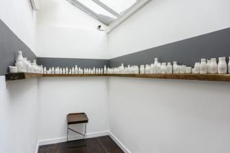 Bottles & Desk