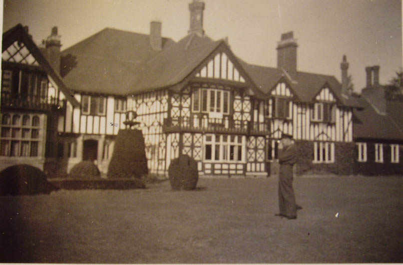 Petwood Hotel from the rear gardens