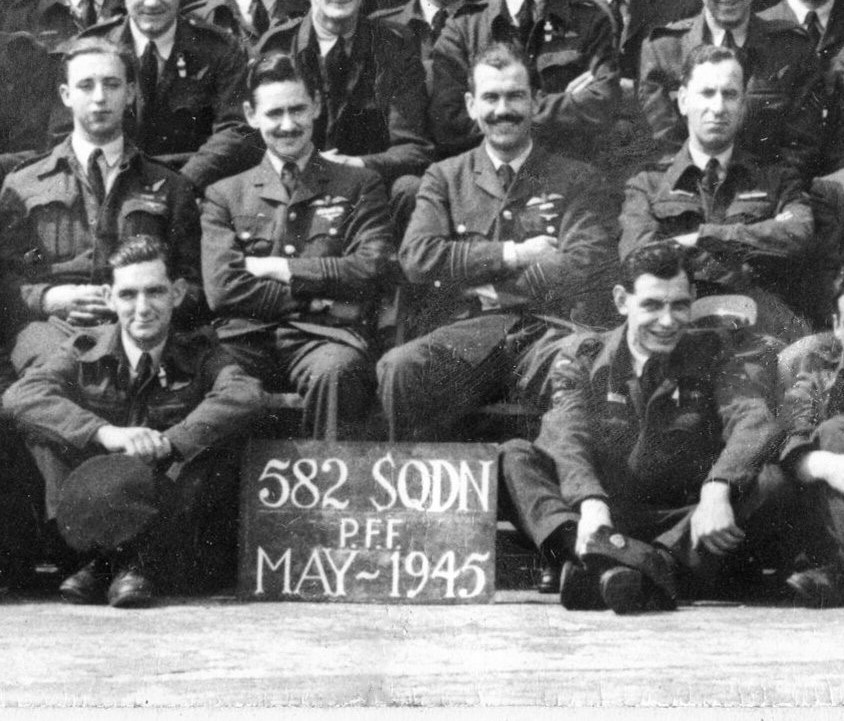 End of War Celebratory Squadron Photographs