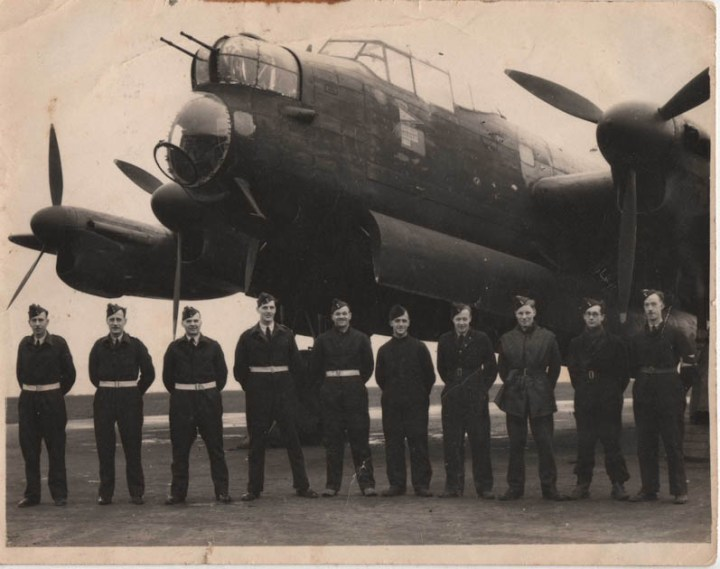 Warboys Wing Co's Lancaster